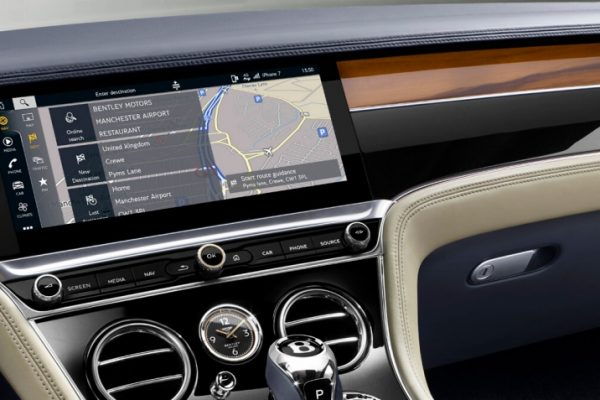New Continental GT real time traffic 1920x670